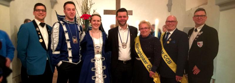 Gottesdienst Helau und Halleluja in der evangelischen Kirche in Besse 2019
