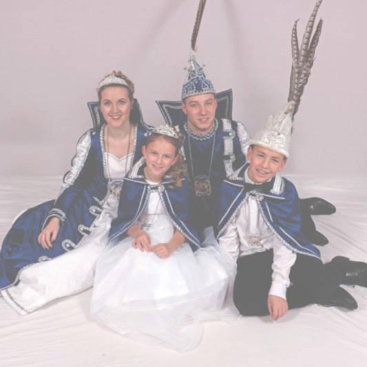 Prinzenpaare des Carneval Club Besse