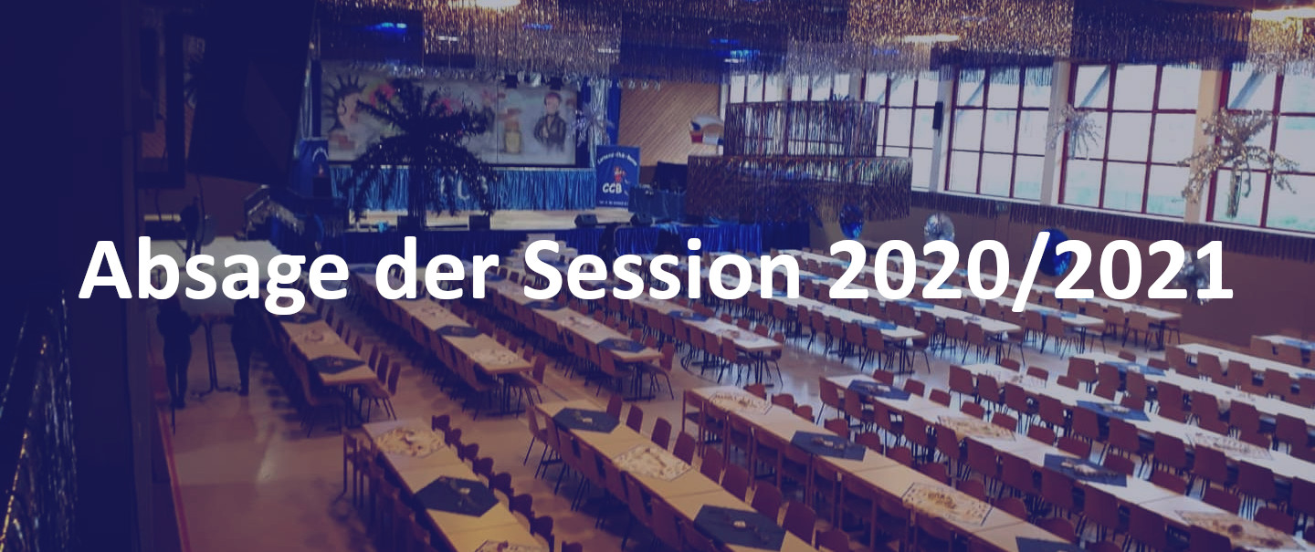 Absage der Session 2020/2021
